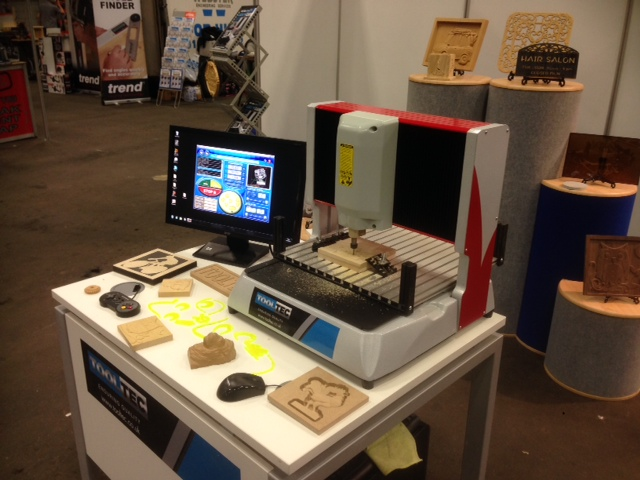 Exhibitions | ClickNcarve CNC engraving machine by Tooltec ...